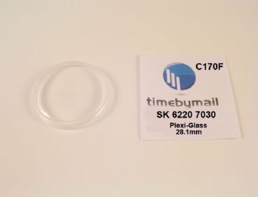 New Watch Crystal For SEIKO 6220 7030 SKYLINER Plexi-Glass Spare Part C170F